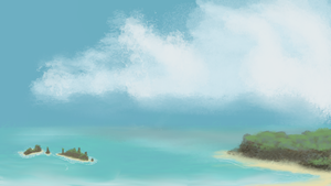 Beach - WIP by SMPritchard