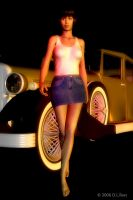 Woman and Car by Zethara
