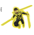 Sinestro Corps Zoro by GarthTheDestroyer