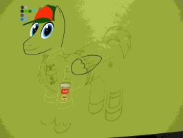 Next Drawing at a Glance - My Little Colt Scout by Cody2897