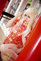 Macross Frontier - Nyan Nyan Sheryl by Xeno-Photography