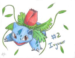 Num. 2 Ivysaur by quickwing23