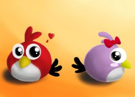 Not-so-angry Birds by Kila-Huy