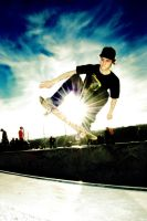 Skate with sun by FotoNerdz