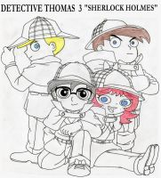 Thomarie-detective-thomas-3 by firerirock