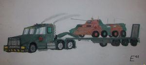 BTR-90 and Transporter by Shay-Tank-Dragon-41