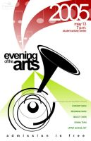 Evening Arts 2005 Poster by wastingtape