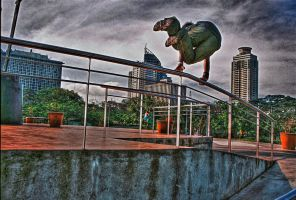le parkour HDR by Germanow17