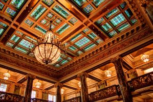 JS Memorial Ceiling by TPextonPhotography