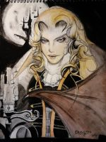 Alucard SoN round two by crowleyboy