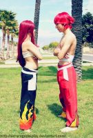 fairy tail cosplay mirror by AstronSama