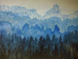BlueWood by LadyCannelle