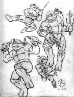 Bloc Draw Off: Cowabunga by JasonShoemaker