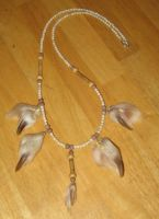 Five wolf claw necklace by lupagreenwolf