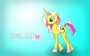 Dawn Lily by underaoised