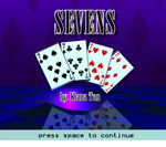 Sevens title screen by darkharukan