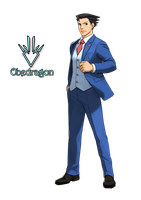 Phoenix Wright - Ace Attorney - Render by Obedragon
