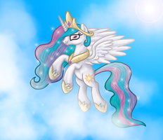 Princess Celestia by CommyPink