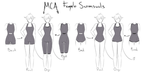 [MCA] Female Swimsuit by NotLucy