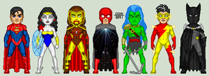 Justice League Alpha: One Million by EverydayBattman
