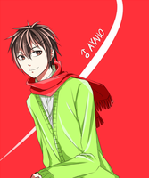 Male!Ayano by rei-vinne