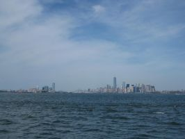 New York City and Jersey City by newyorkx3