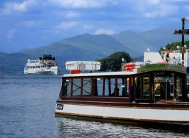 Windermere Boats by Queenselphie