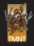 TMNT Thanksgiving 2005 by EryckWebbGraphics