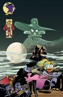 Darkwing Cover issue 8 by lazesummerstone
