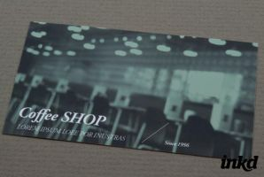 Coffee Shop Business Card Temp by inkddesign