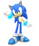 Smash Sonic All Star Pose edit by NIBROCrock