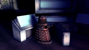 Battered Dalek 13 by LEMIKEN
