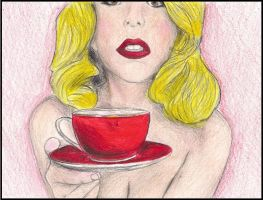 Nothin Like A Red Teacup... by xDiscoCatx