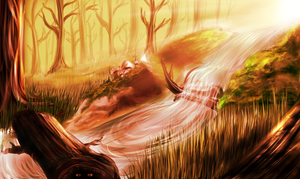 Background Practice: Forest by Kalina1176