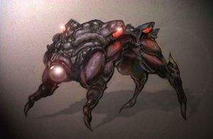 bio-mech dog by chaseblood
