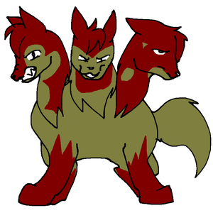 The Hell Hound Cerberus