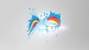Little Dashie -  Request to EmoCreeperLovesYou by Amoagtasaloquendo