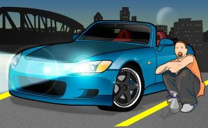 ICC Honda S2000 Vector by Import-Car-Club