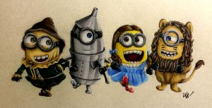 Minions Of Oz by Wolfish-Dreams