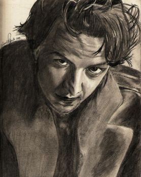 James McAvoy, baby by xSpeechless