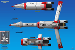 Thunderbird 17 (TB-17) Space Cruiser by haryopanji