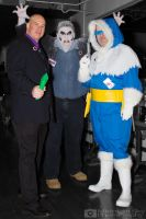 Lex Luthor, Solomon Grundy and Captain Cold cospla by MidnightSkyPhoto