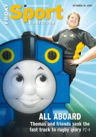 THOMAS THE TANK ENGINE by space-for-thought