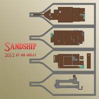 Zelda - Skyward Sword: Sandship Map by Mr-DeKay