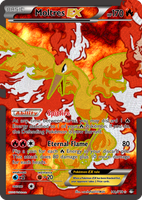 TheAlphaRanger Fake Cards: Moltres EX by TheAlphaRanger