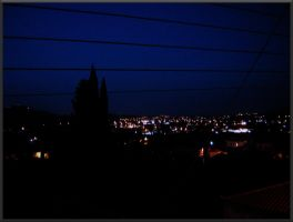 Night - Balcony view by MPAMPoULAs