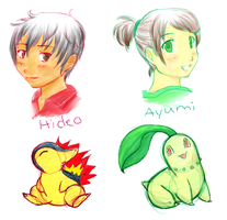 080127 Pokemon-training Kids by chiyokins