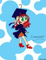 graduation girl by tie-dye-flag