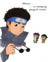Amazing Fangirl-Vision: Shino by Commander-BOTTO