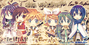 Club Vocaloid by Leaf-Vane